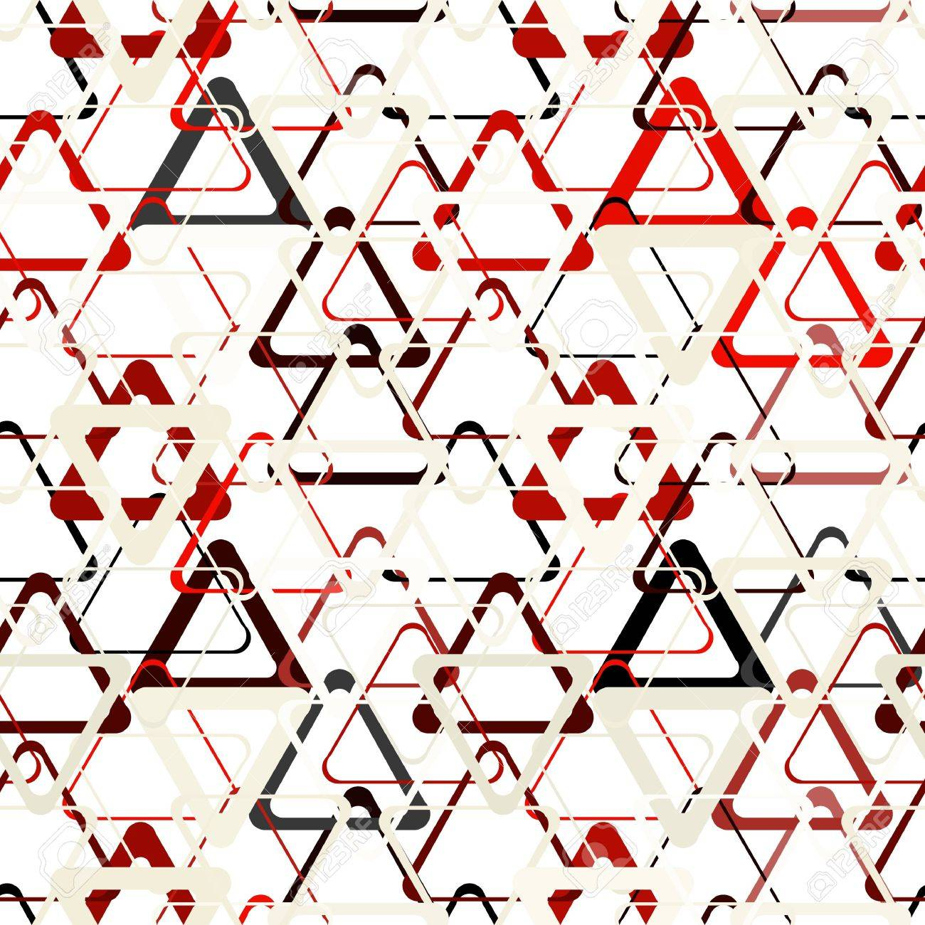 Seamless abstract grey geometric pattern Stock Vector - 10336015