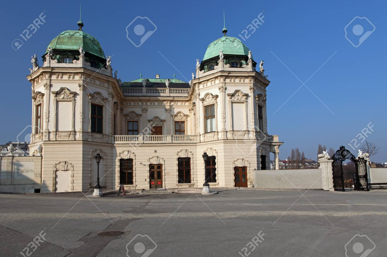 Belvedere Palace in the Vienna in Lower Austria  Stock Photo - 16376939