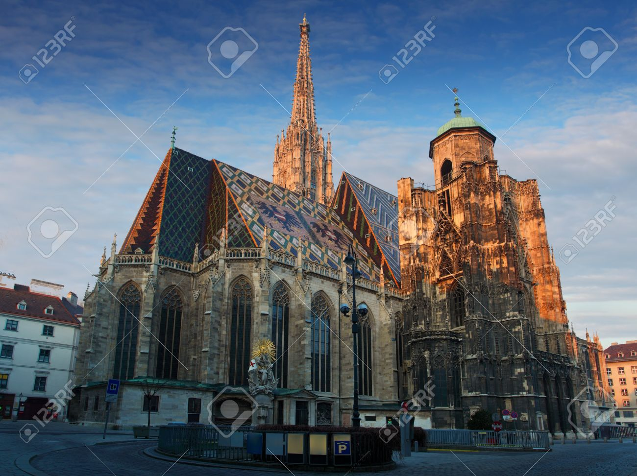 St  Stephan cathedral in Vienna at night, Austria Stock Photo - 12775842
