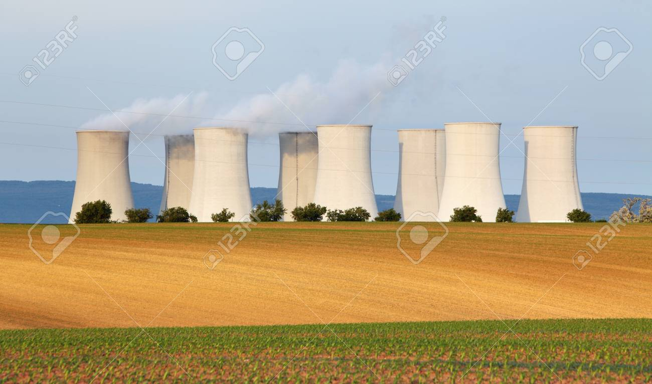 Nuclear power plant Stock Photo - 16466129