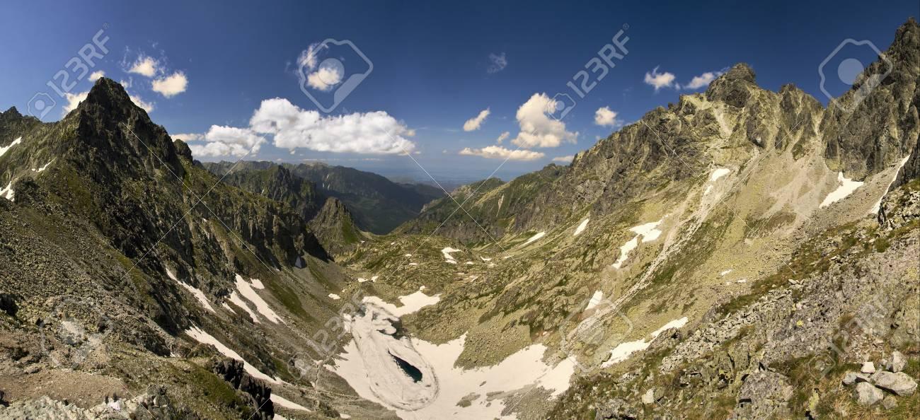 Mountains panorama - Slovakia Tatras Stock Photo - 19837523