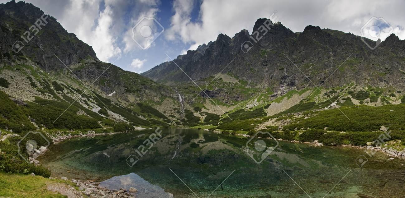 Mountains panorama - Slovakia Tatras Stock Photo - 21767914