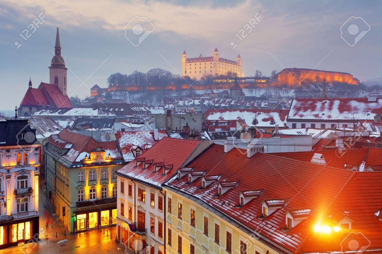 d2956cc47 Bratislava panorama - Slovakia - Eastern Europe city Stock Photo - 22125416