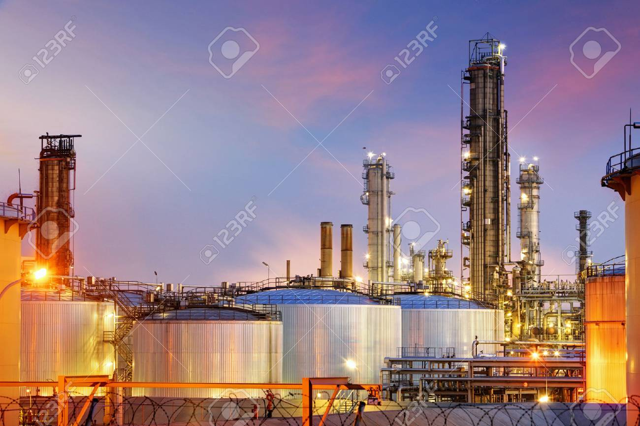 Oil Industry - refinery factory - 53131250