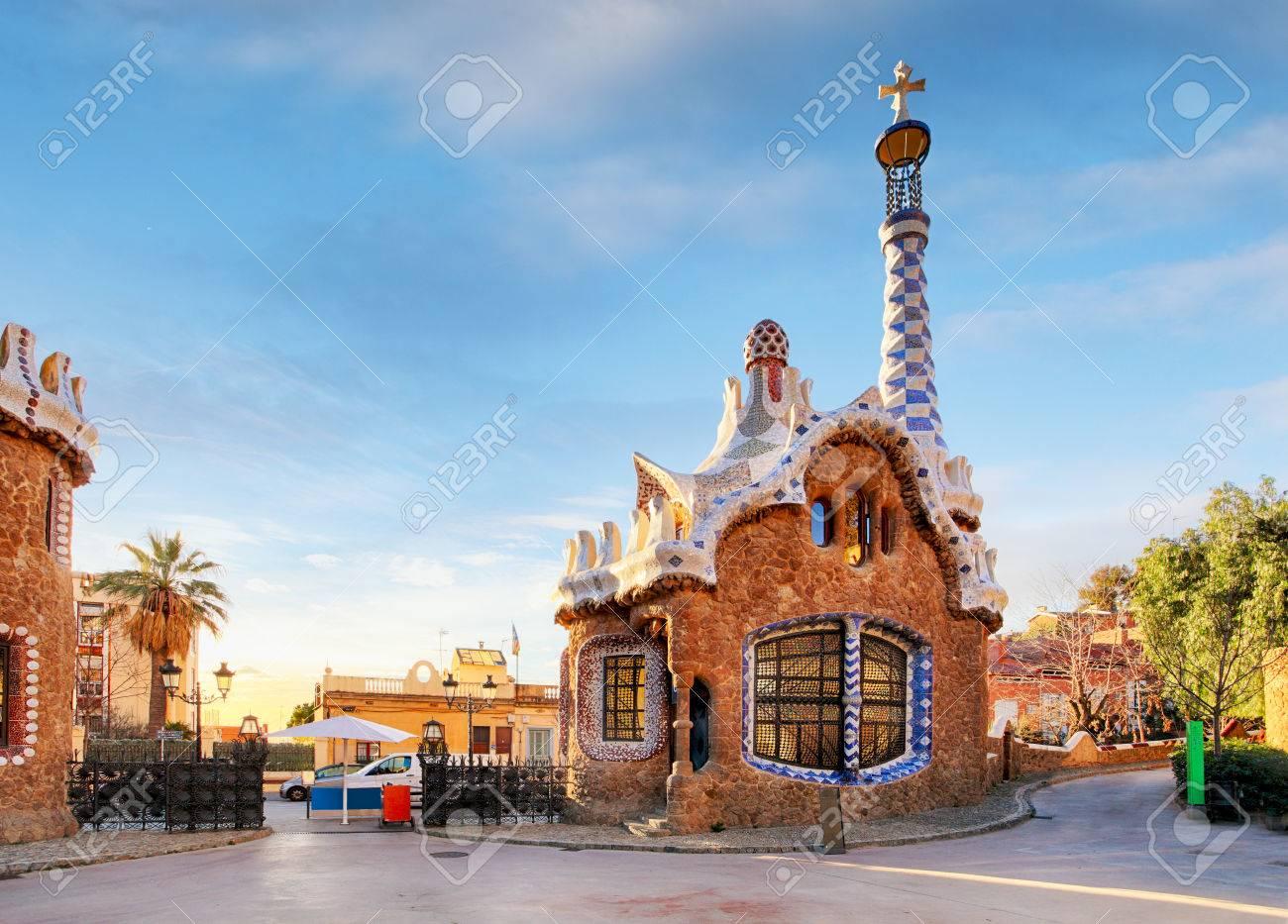 Barcelona, Park Guell, Spain - nobody - 53131326