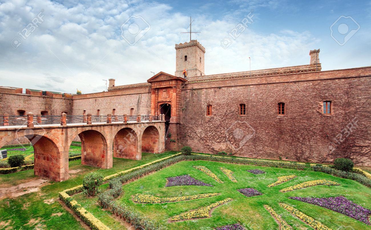 Montjuic Castle, Barcelona, Spain - 53090174