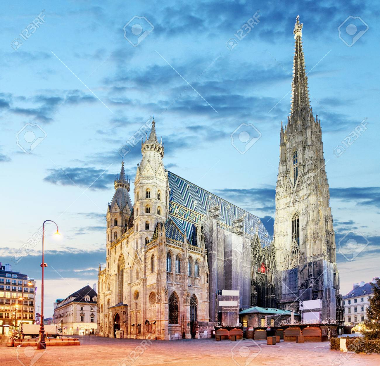 Vienna - St. Stephan cathedral, Austria, Wien - 65125719