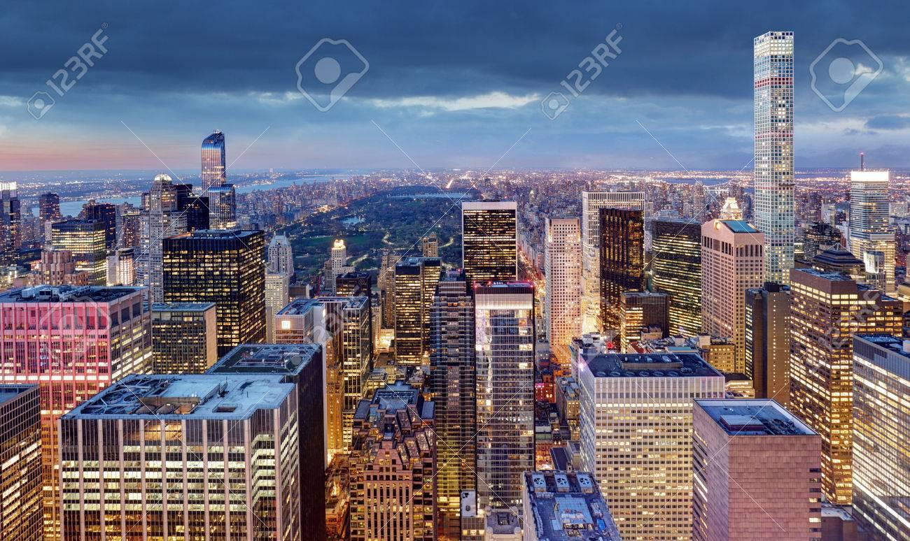 New York City at night, USA - 71479014