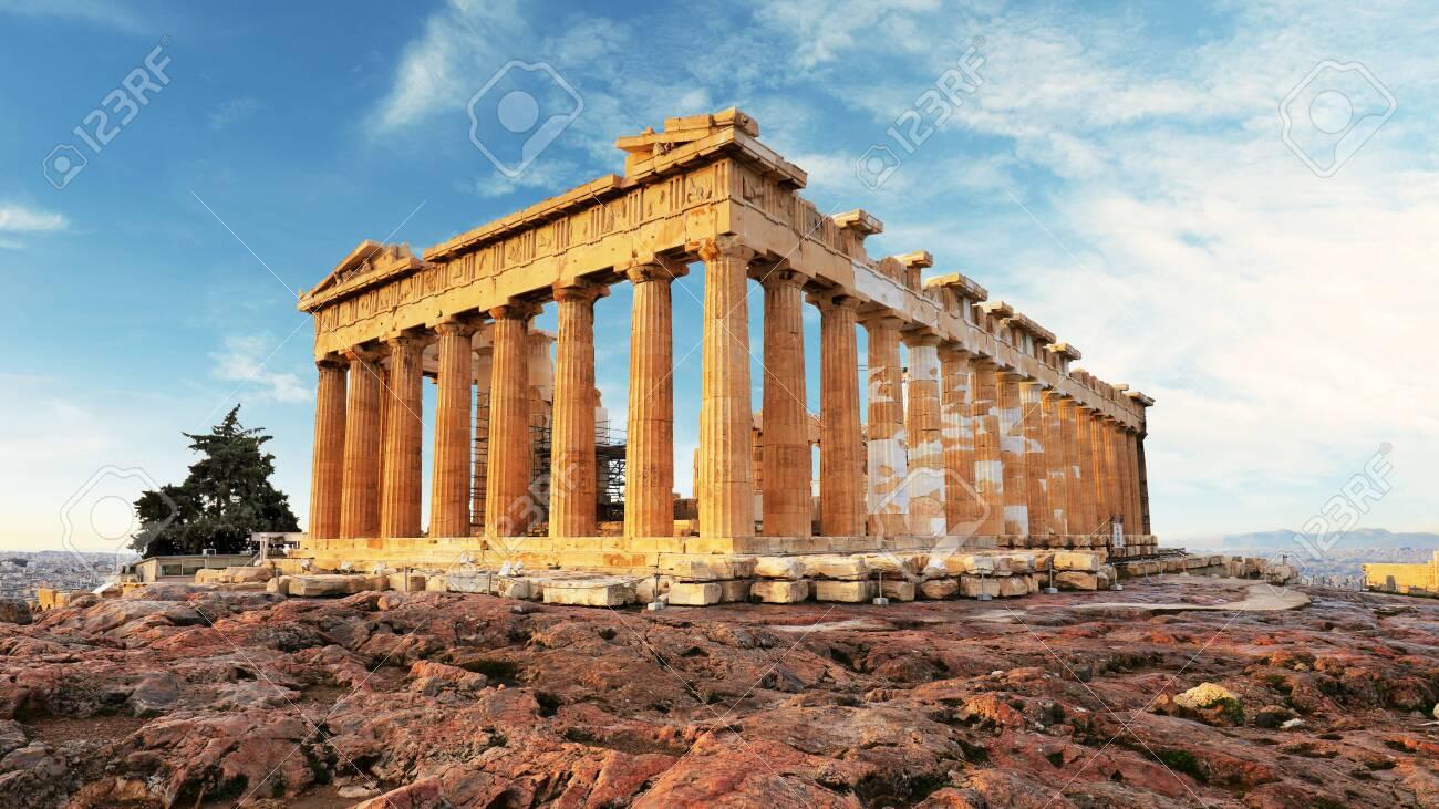 Parthenon on Acropolis, Athens, Greece. Nobody - 126019517