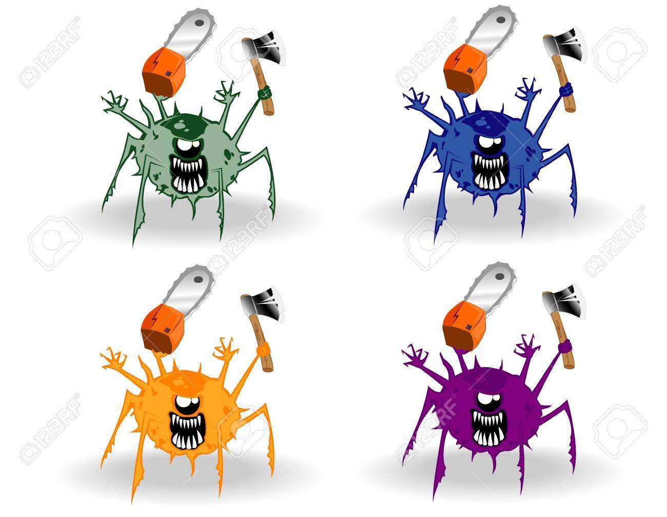 set of monsters Stock Vector - 12862351