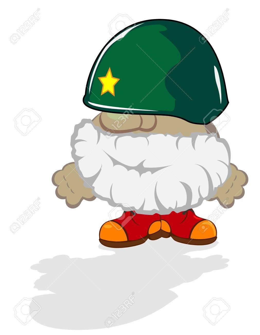 funny cartoon hero Stock Vector - 13135817