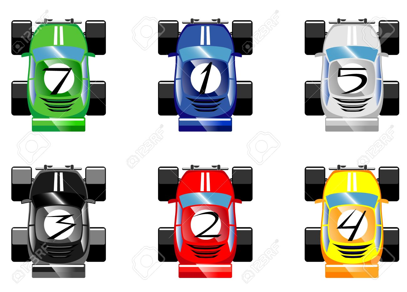 Race Game Cliparts Stock Vector And Royalty Free Race Game