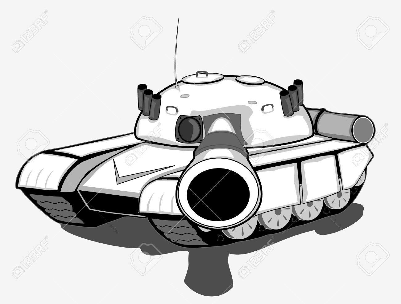 Tank vector illustration Stock Vector - 16412770