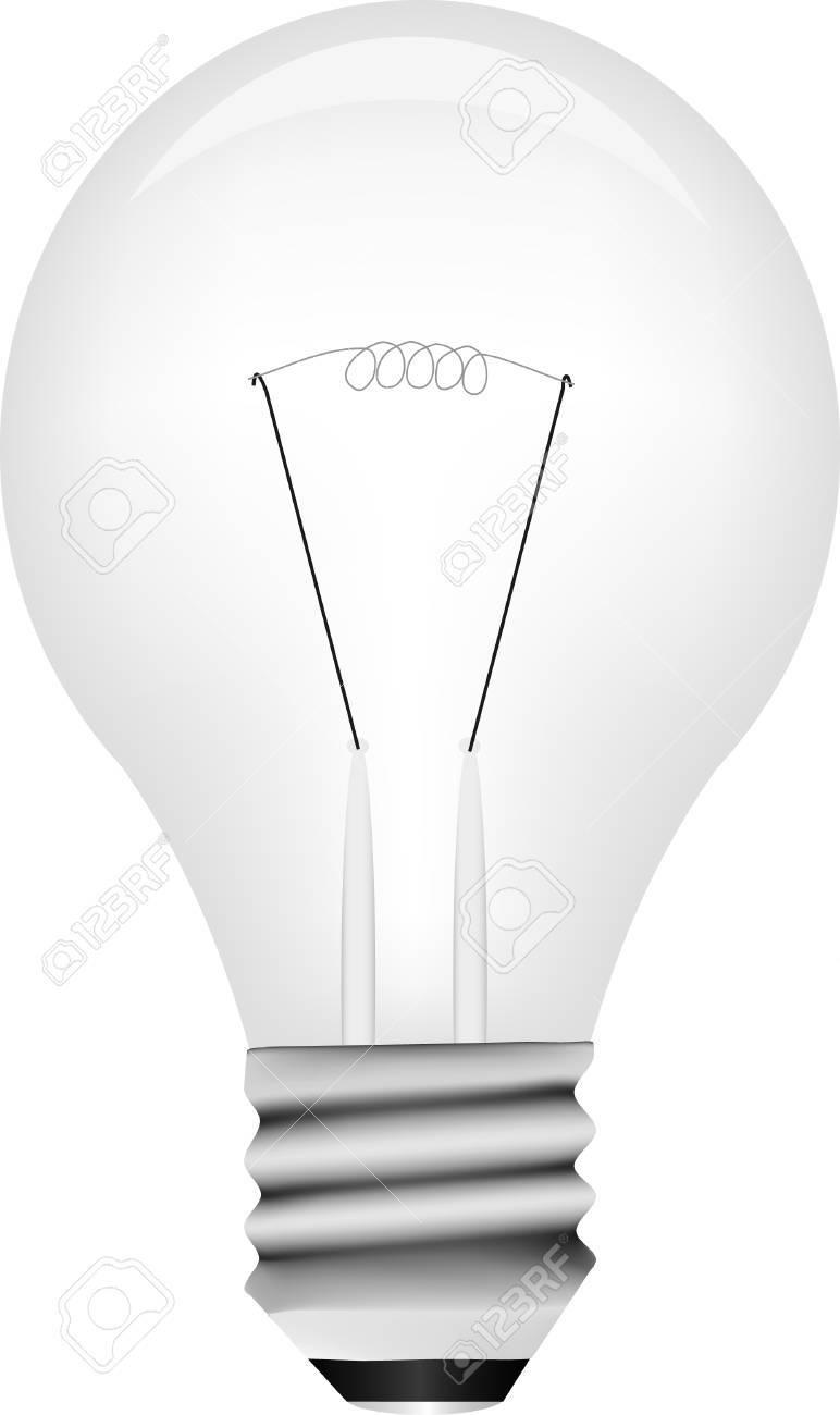 Vector light bulb Stock Vector - 4408750