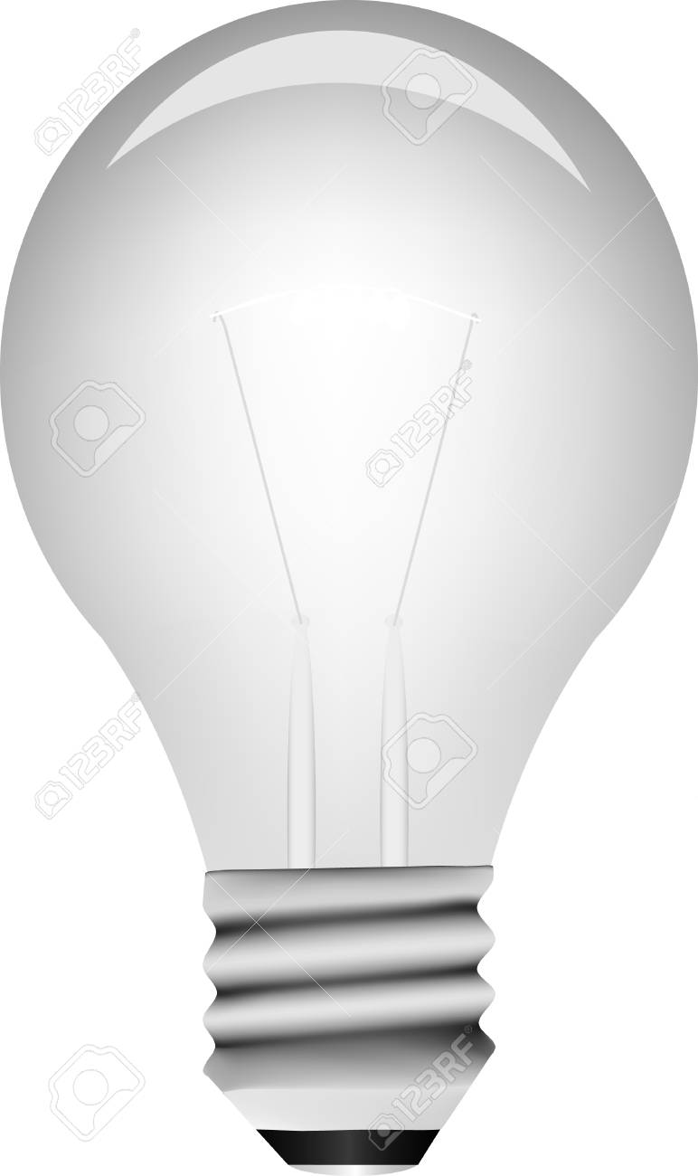 Vector light bulb Stock Vector - 4408760