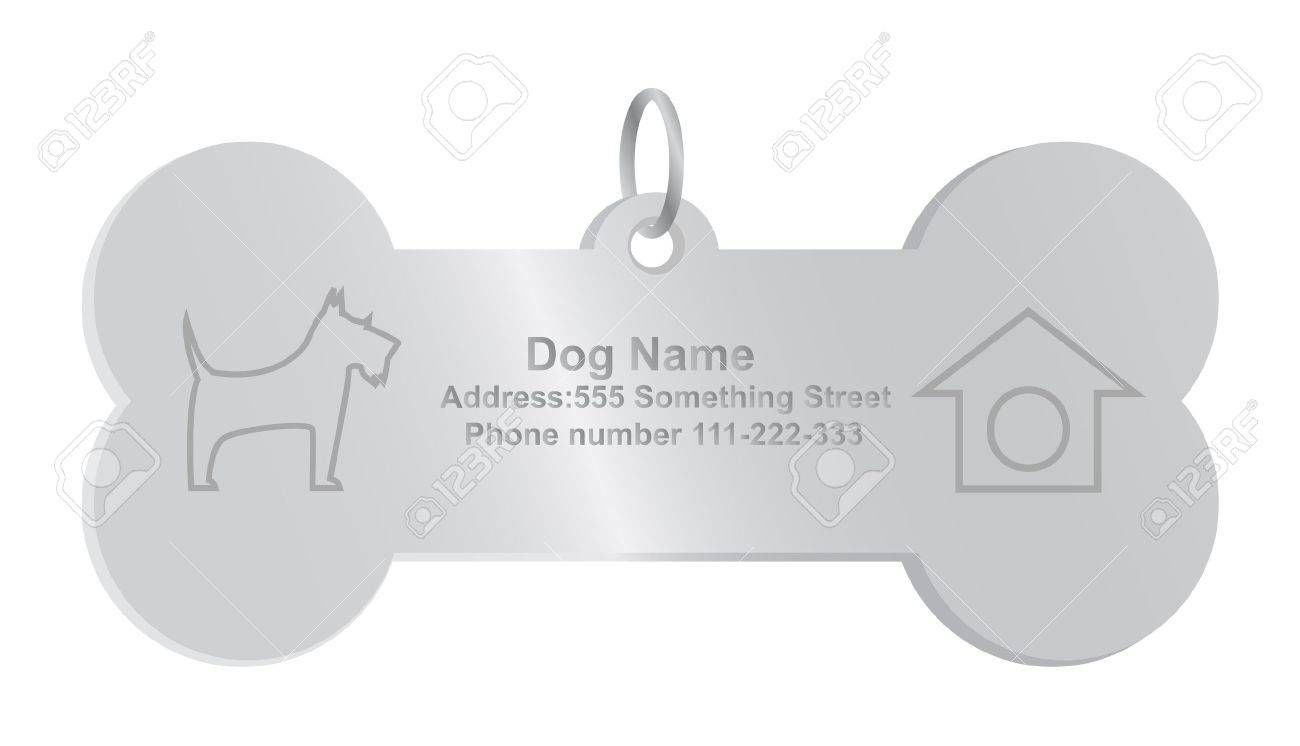 identity tags for dog - 15552783