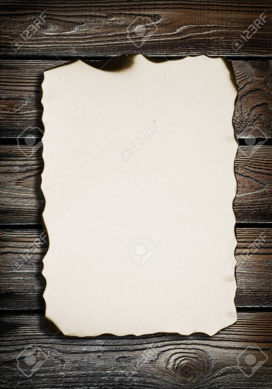 old paper on wood texture with natural patterns Stock Photo - 18032084