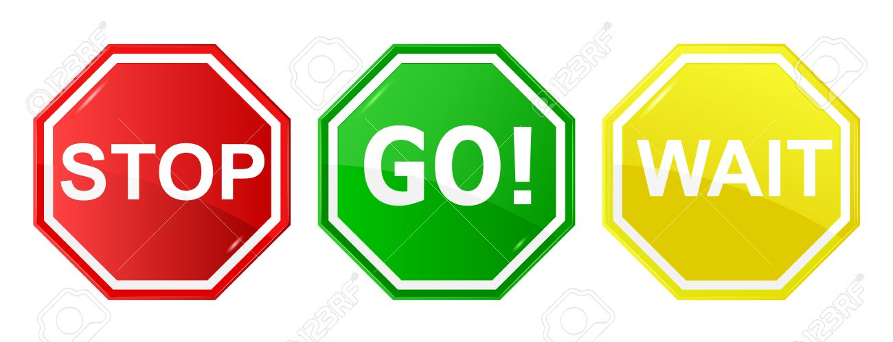 Go, wait, and stop control / traffic signs, signals - 67031851