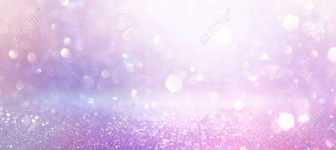abstract glitter pink, purple and gold lights background. de-focused. banner - 131233935