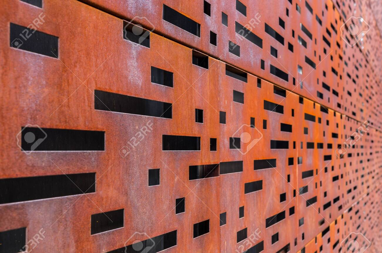 Walling Panel Made Of Weathering Steel Sheets Corten Steel Stock