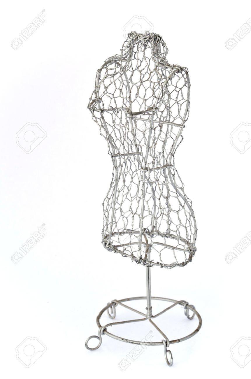Как сделать манекен из проволоки своими руками 67