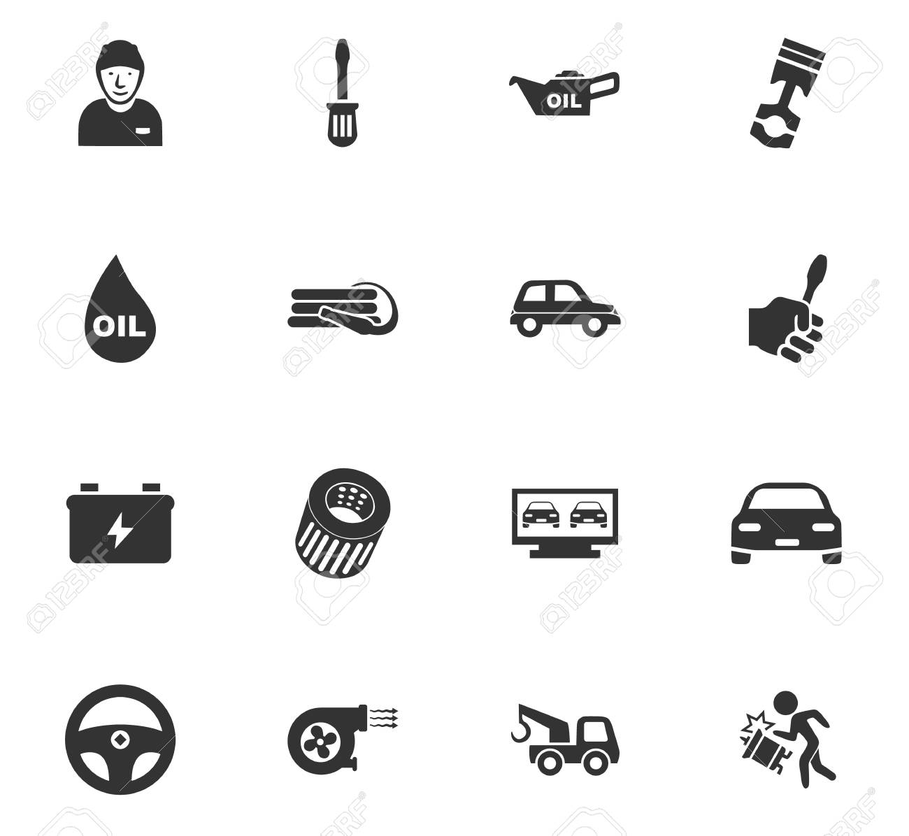 Car service maintenance icons set and symbols for web user car service maintenance icons set and symbols for web user interface stock vector 68690393 buycottarizona