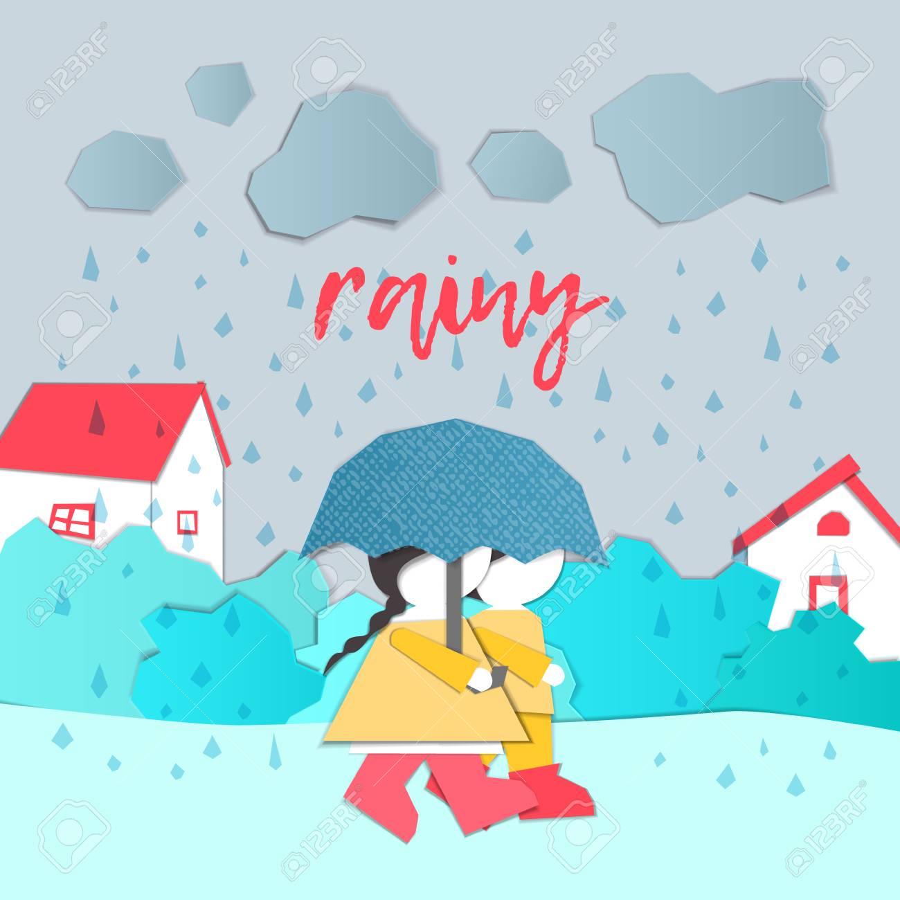 Girl, Wind, Weather, Umbrella, Windy - Menina Guarda Chuva Png Clipart  (#2082578) - PinClipart