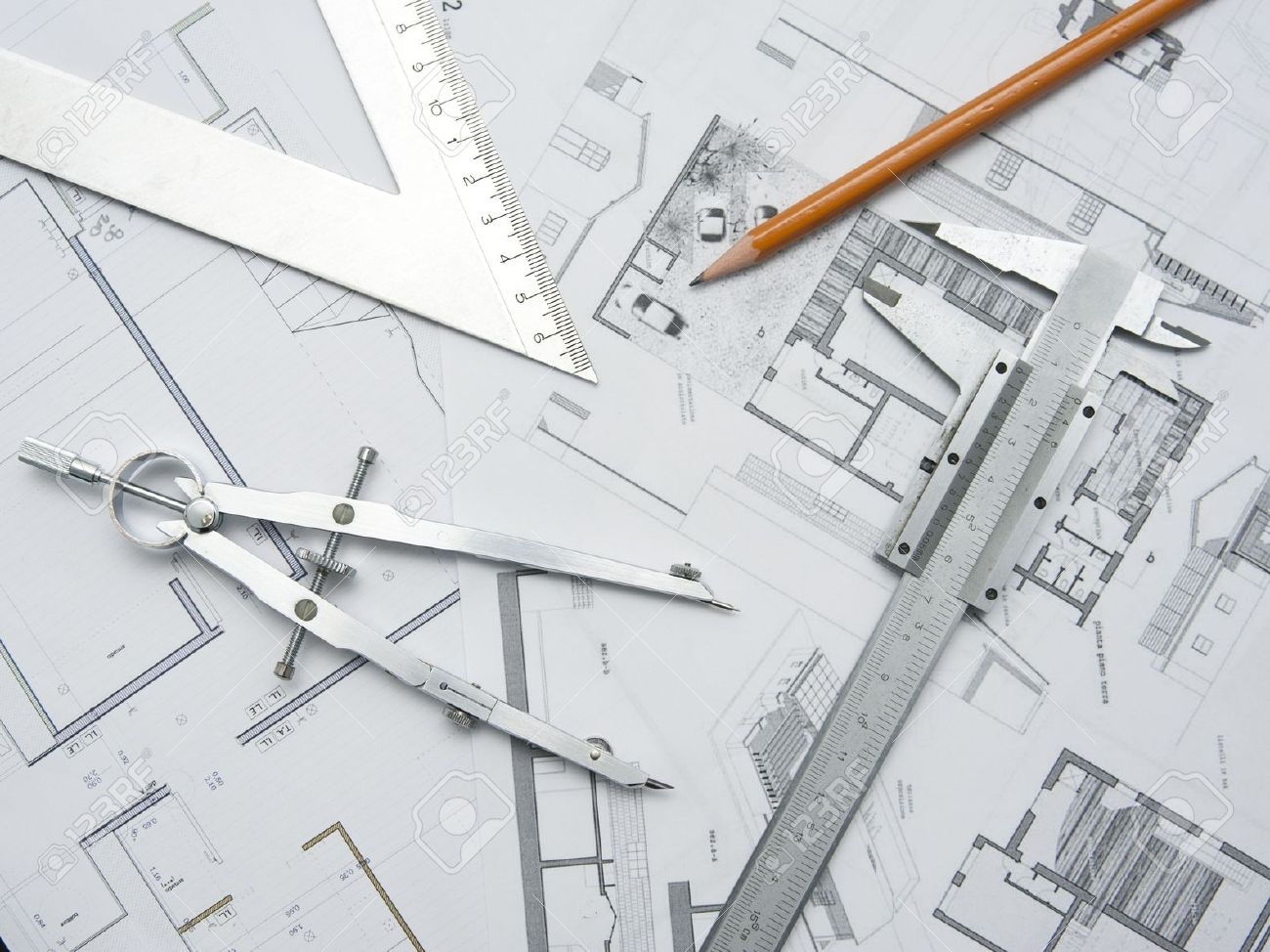 architecture drawing images stock pictures royalty free architecture drawing tools and papers for planning an architecture project stock photo