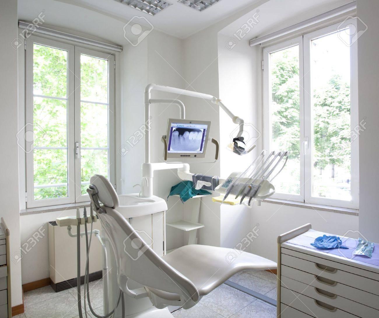 dentist office interior Stock Photo - 9844224
