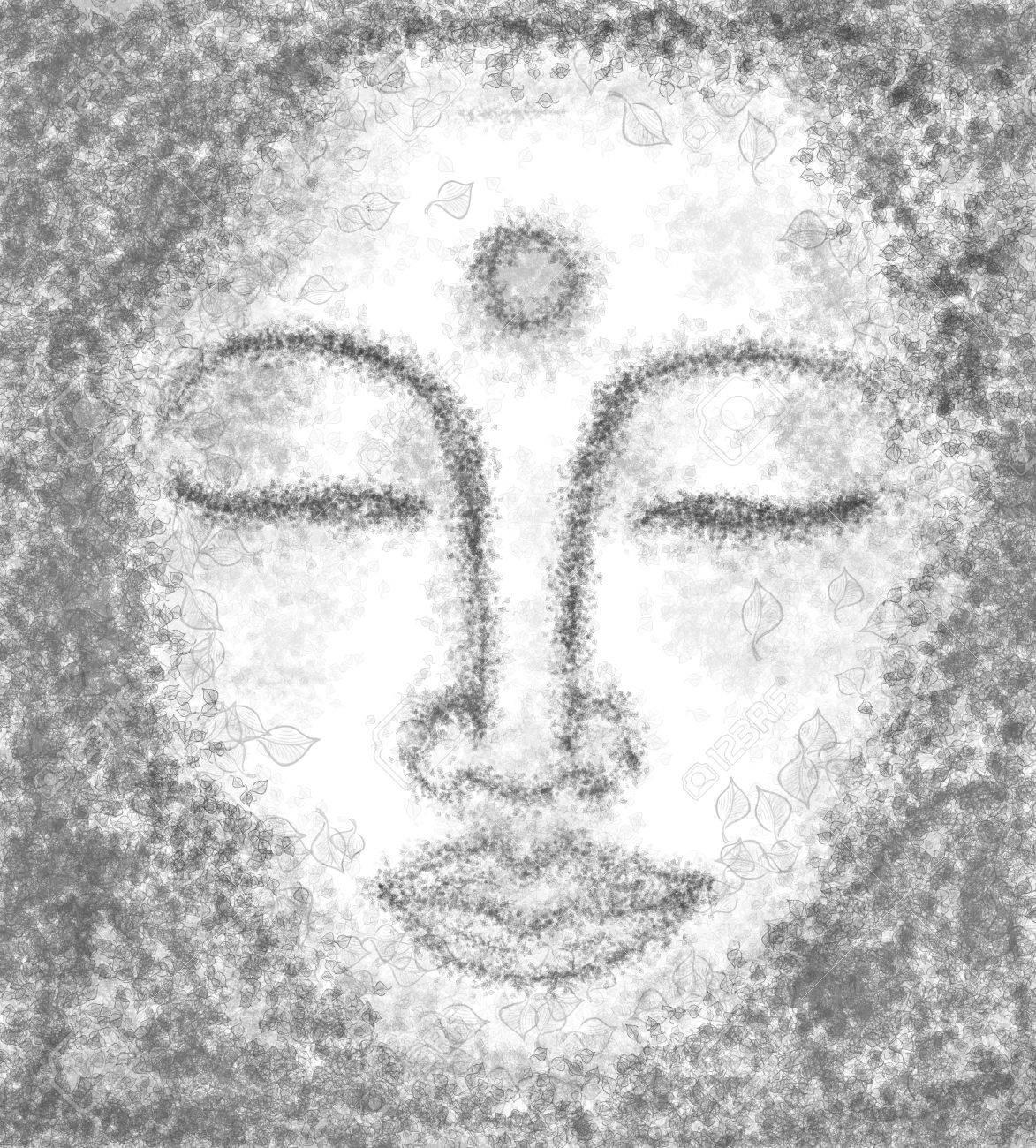 portrait of buddha Stock Photo - 17213457