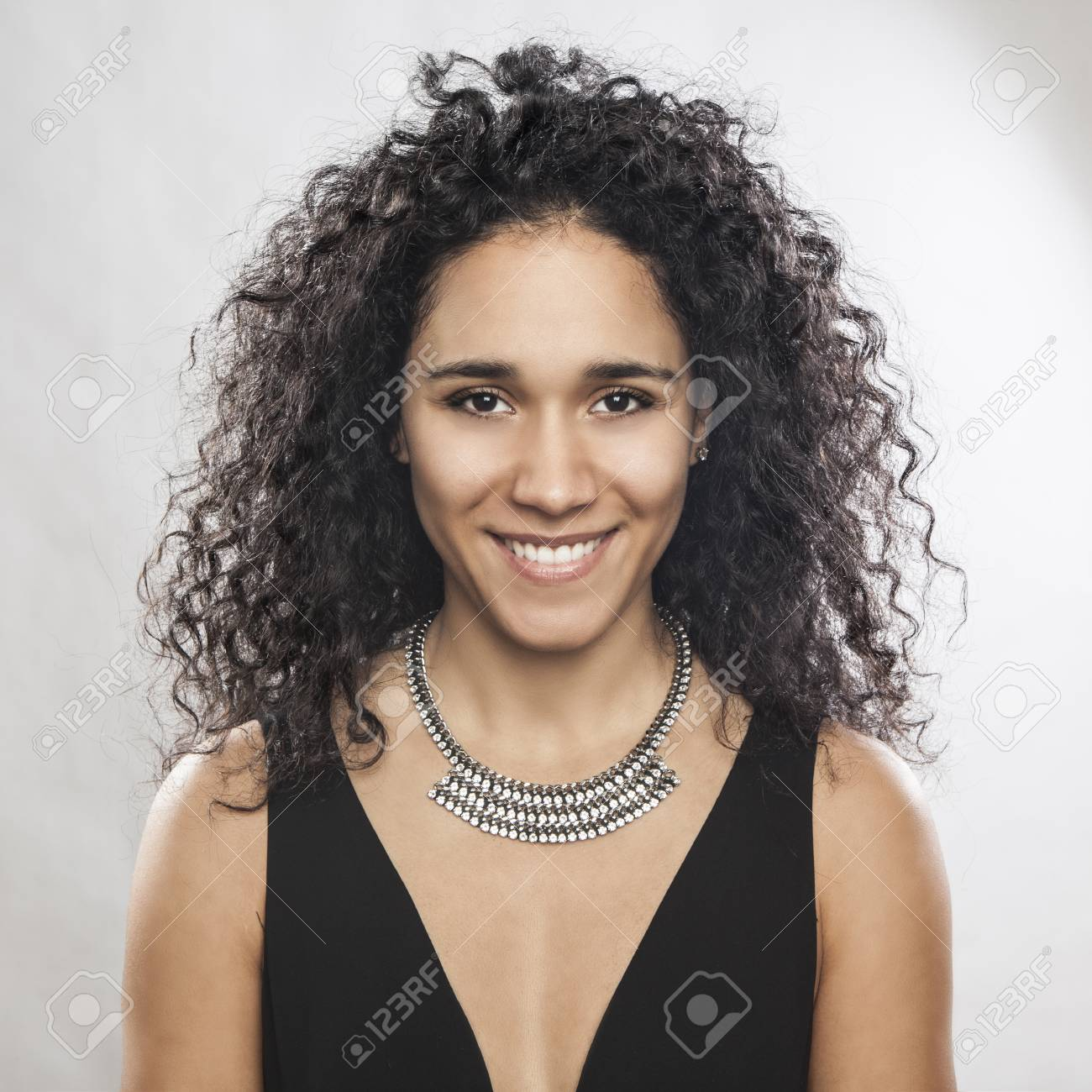 Portrait Of A Beautiful Mixed Race Woman Stock Photo Picture And Royalty Free Image Image 70764354