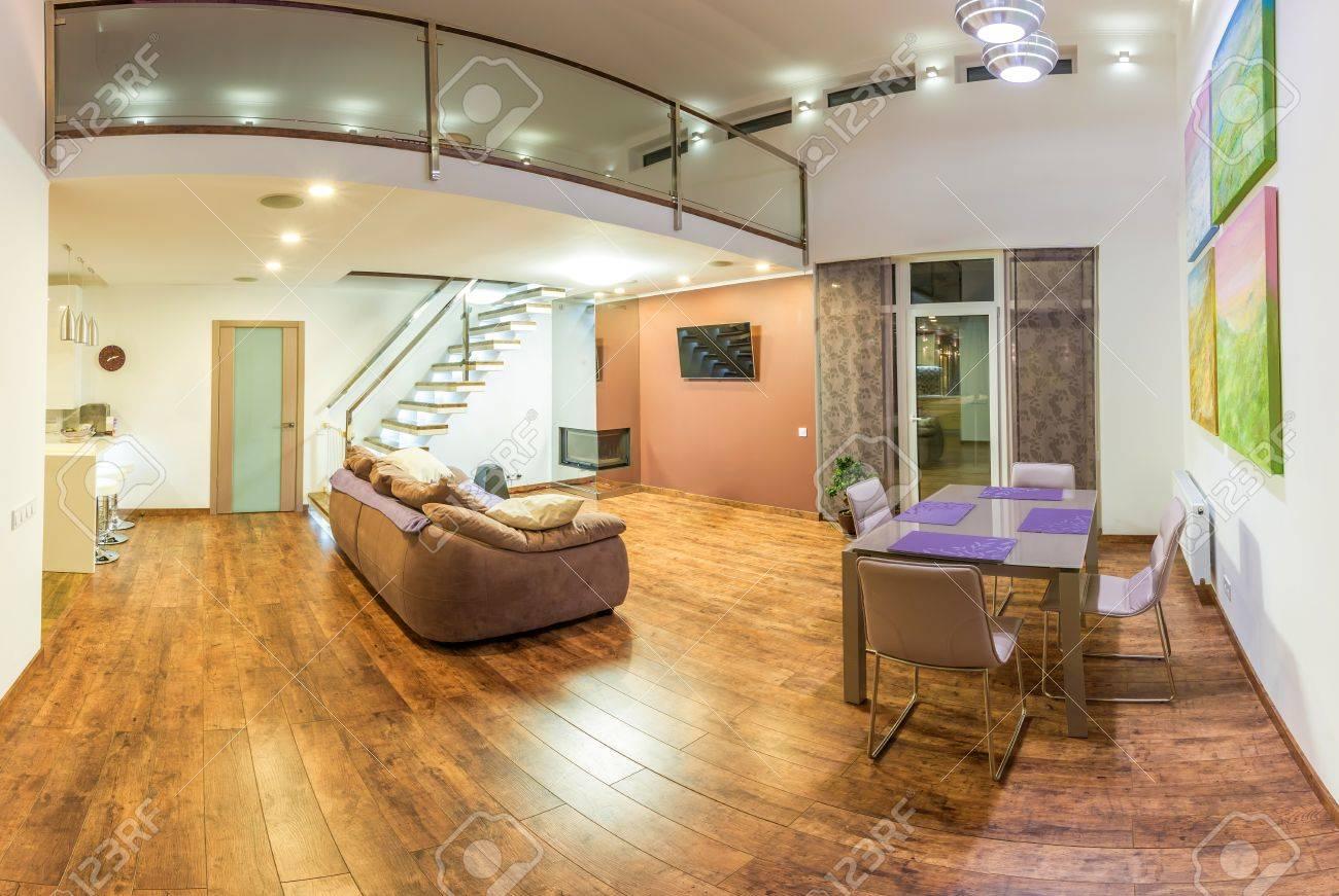 Fantastische Zeitgenossische Wohnzimmer Wohnlandschaft Esszimmer