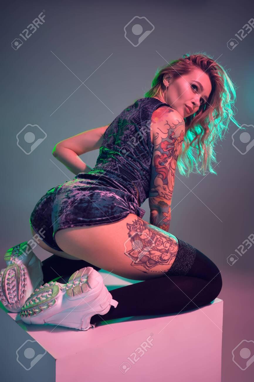 Booty shorts models
