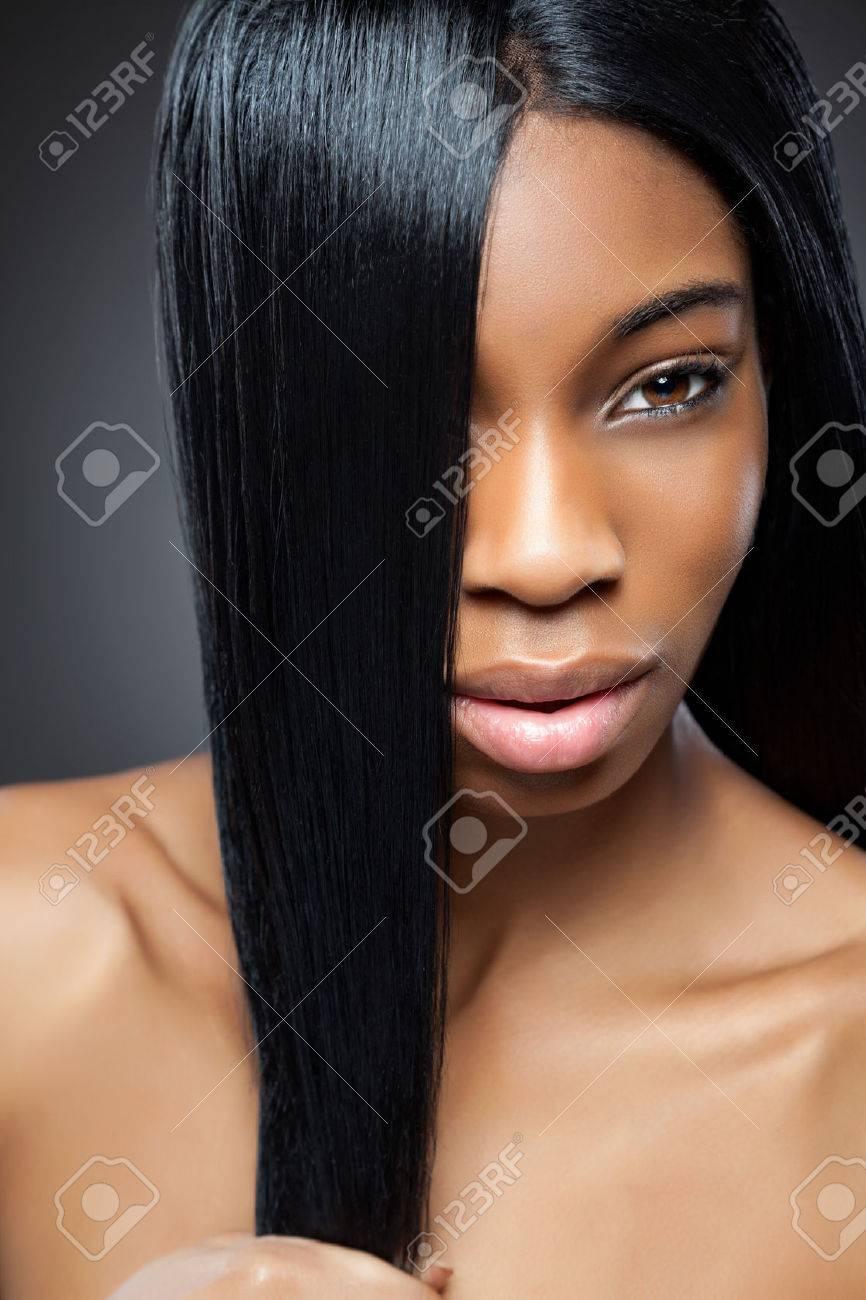 Schwarze Frauenpussy