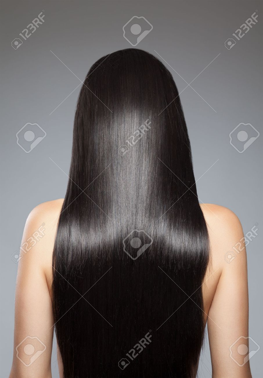 Fashion week Hair long back straight for girls