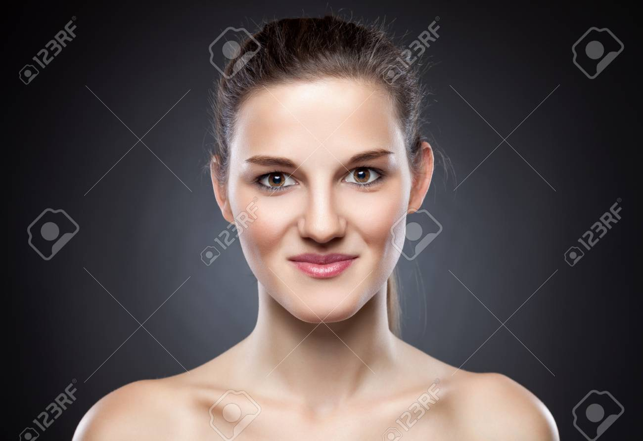 Young Naturally Beautiful Woman With Great Skin Complexion Stock Photo Picture And Royalty Free Image Image 39245007