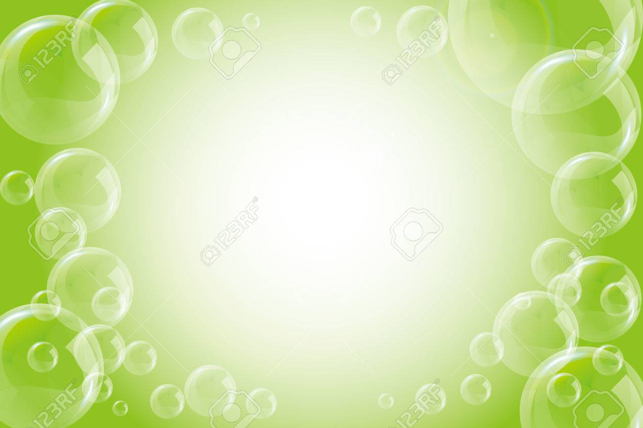 Background Wallpaper Sea Water Bubble Polka Dot Soap Bubbles Stock Vector