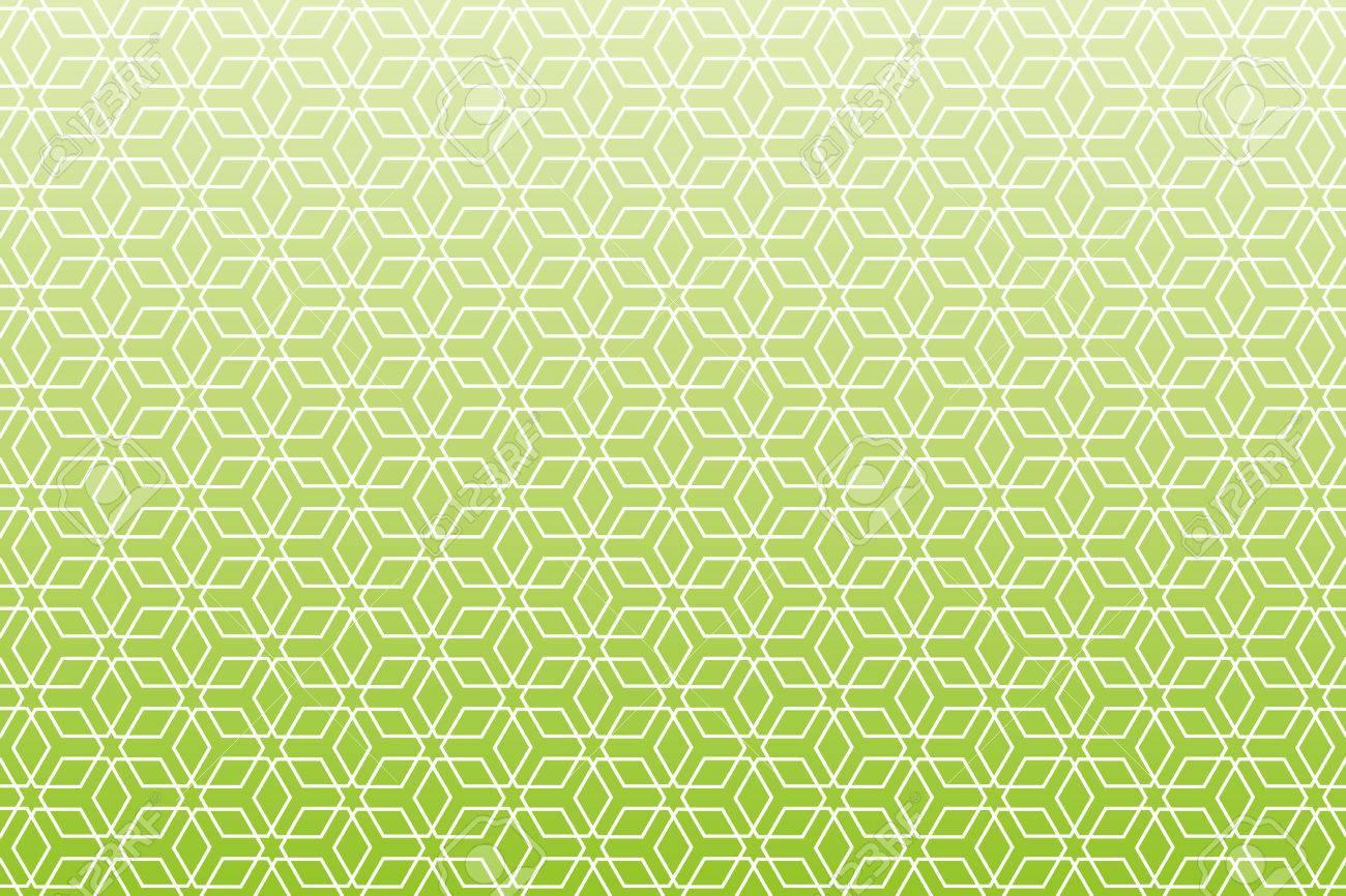 素材壁紙和風パターン六角形パターンは伝統的なパターンの背景します