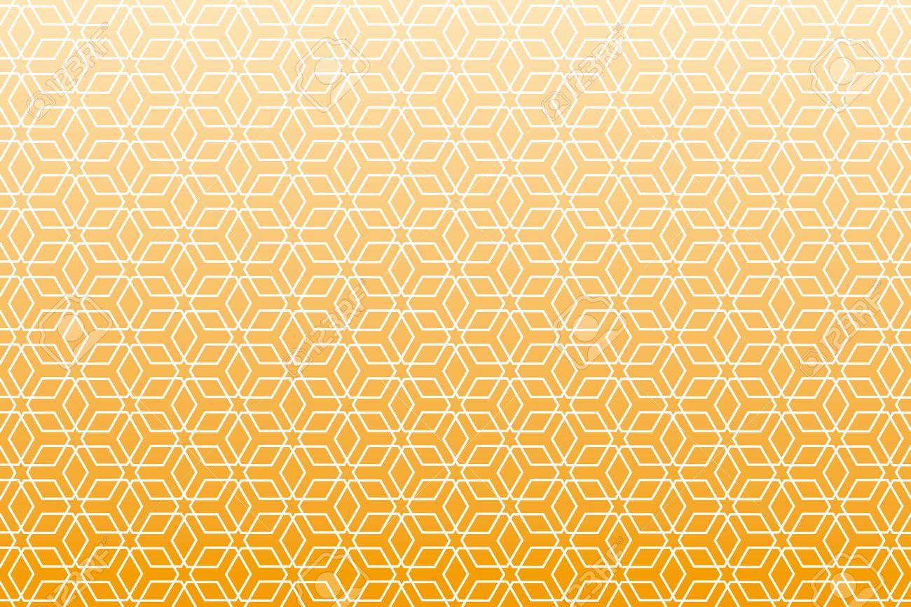 素材壁紙和風パターン 六角形パターン柄の背景します のイラスト素材