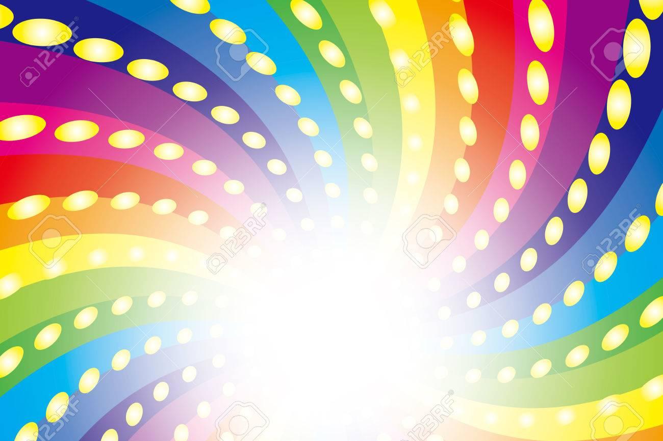 Hintergrundmaterial Tapete Regenbogen Sieben Farben Regenbogen