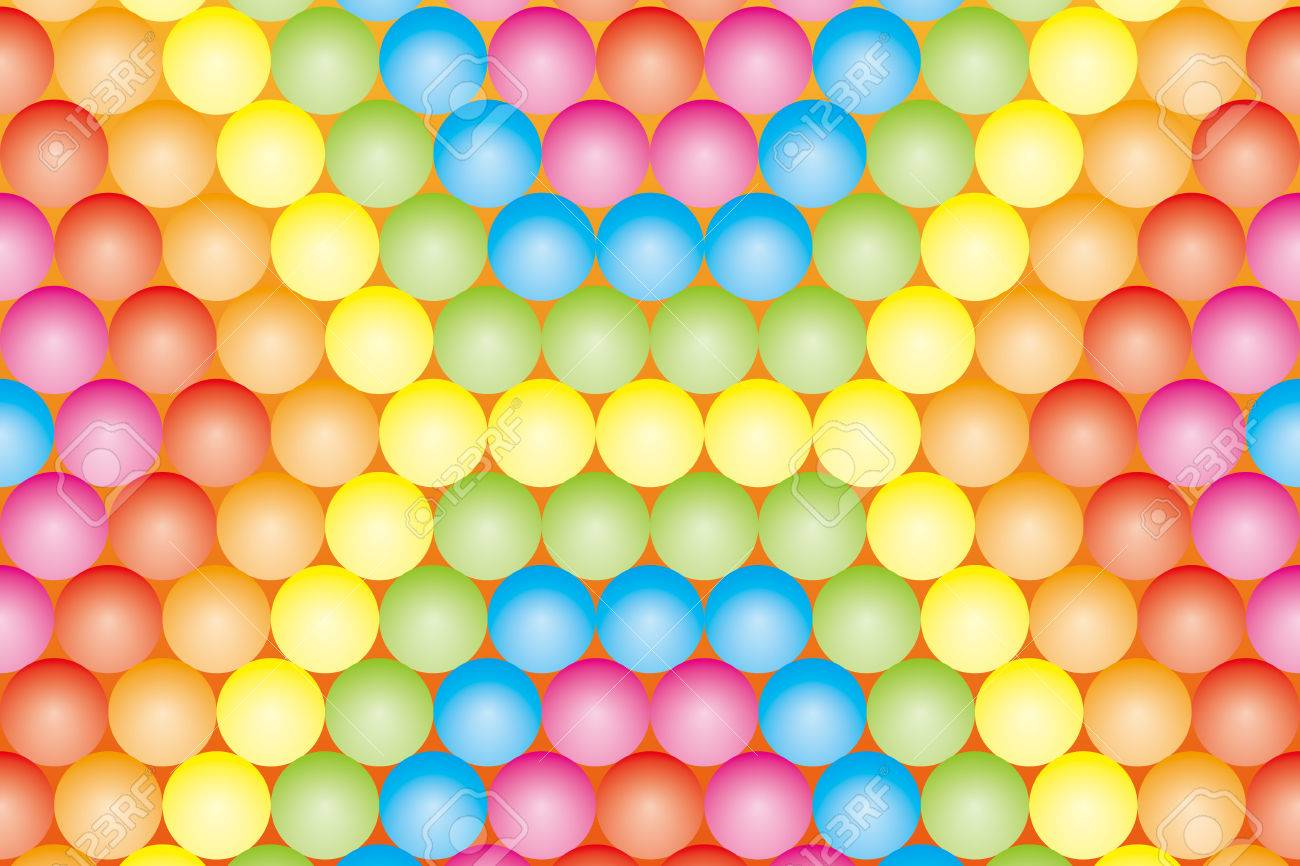 Background Material Wallpaper Color Ball Which Has Been Paved Rainbow Rainbow Colors Seven Colors Royalty Free Cliparts Vectors And Stock Illustration Image 30681913