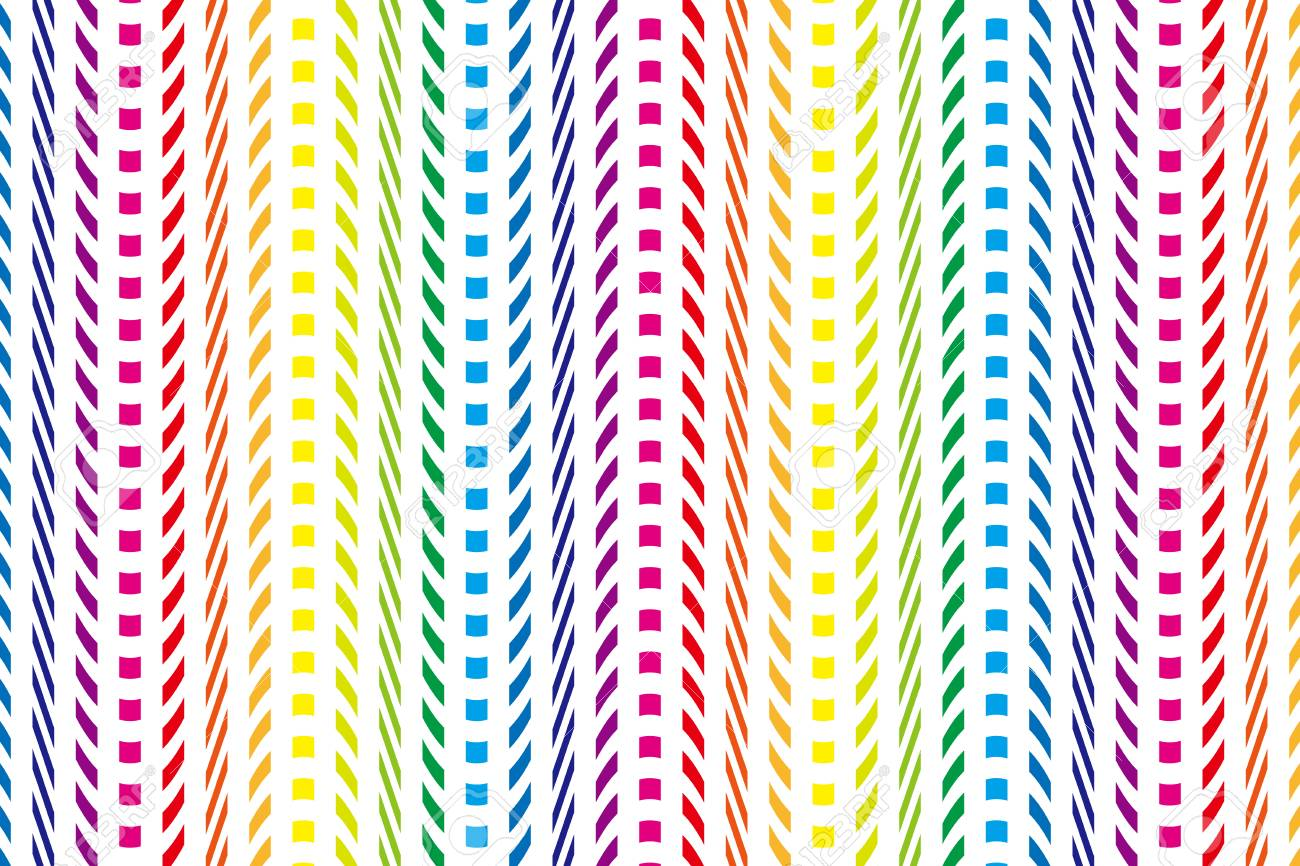 Background Material Wallpaper Rainbow Colored Stripes Rainbow