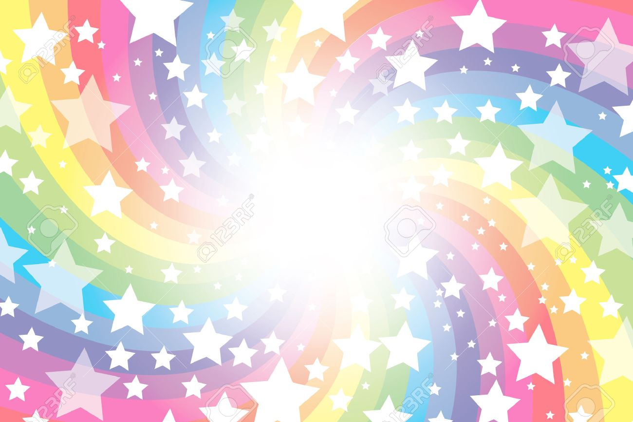Background material wallpaper rainbow rainbow colors seven background material wallpaper rainbow rainbow colors seven colors sparkling stars glitter voltagebd Image collections