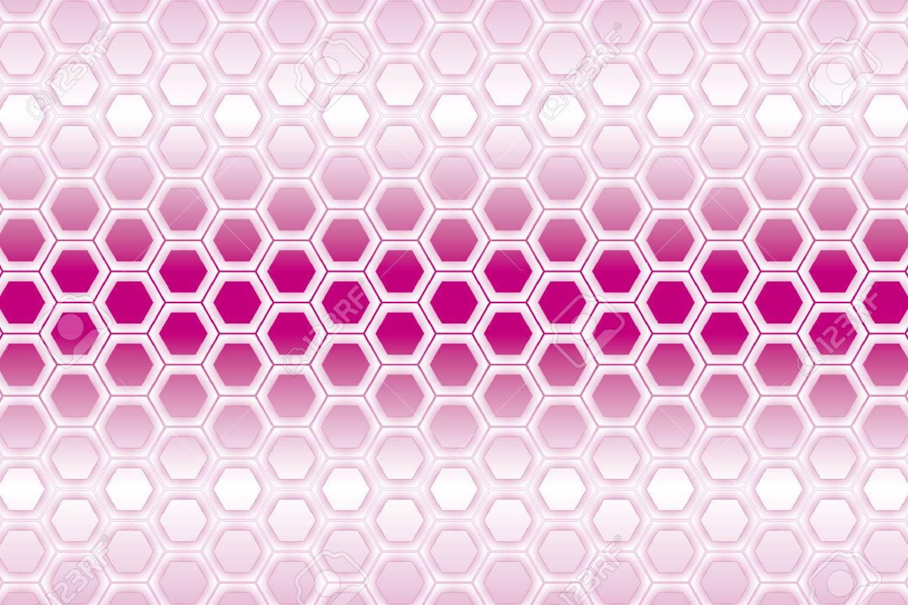 Exceptionnel Hexagonale Positive, La Structure En Nid D'abeilles,, Maille  NC57