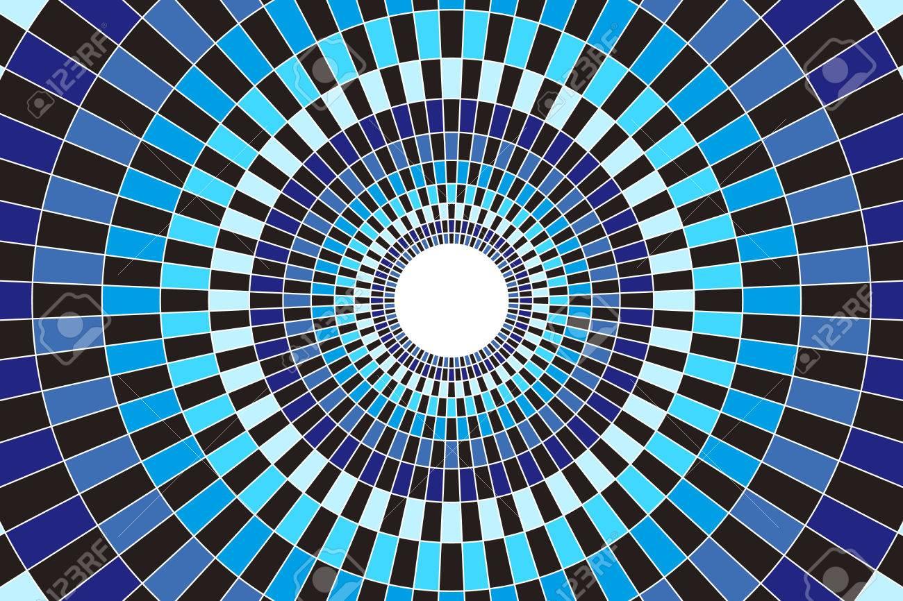 壁紙素材 モザイク モザイク ステンド グラス 円環 丸 円の形 放射状 窓からすのイラスト素材 ベクタ Image