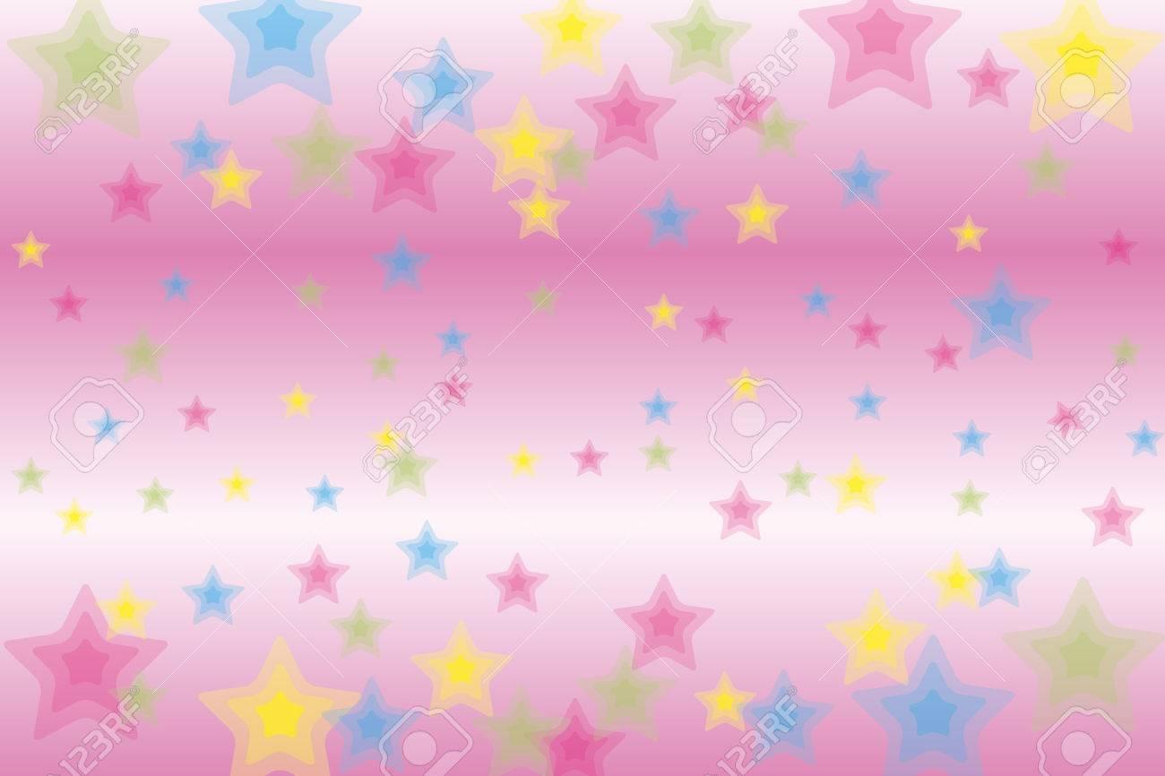 Patterned Wallpaper Material Star Galaxy Stardust Stardust