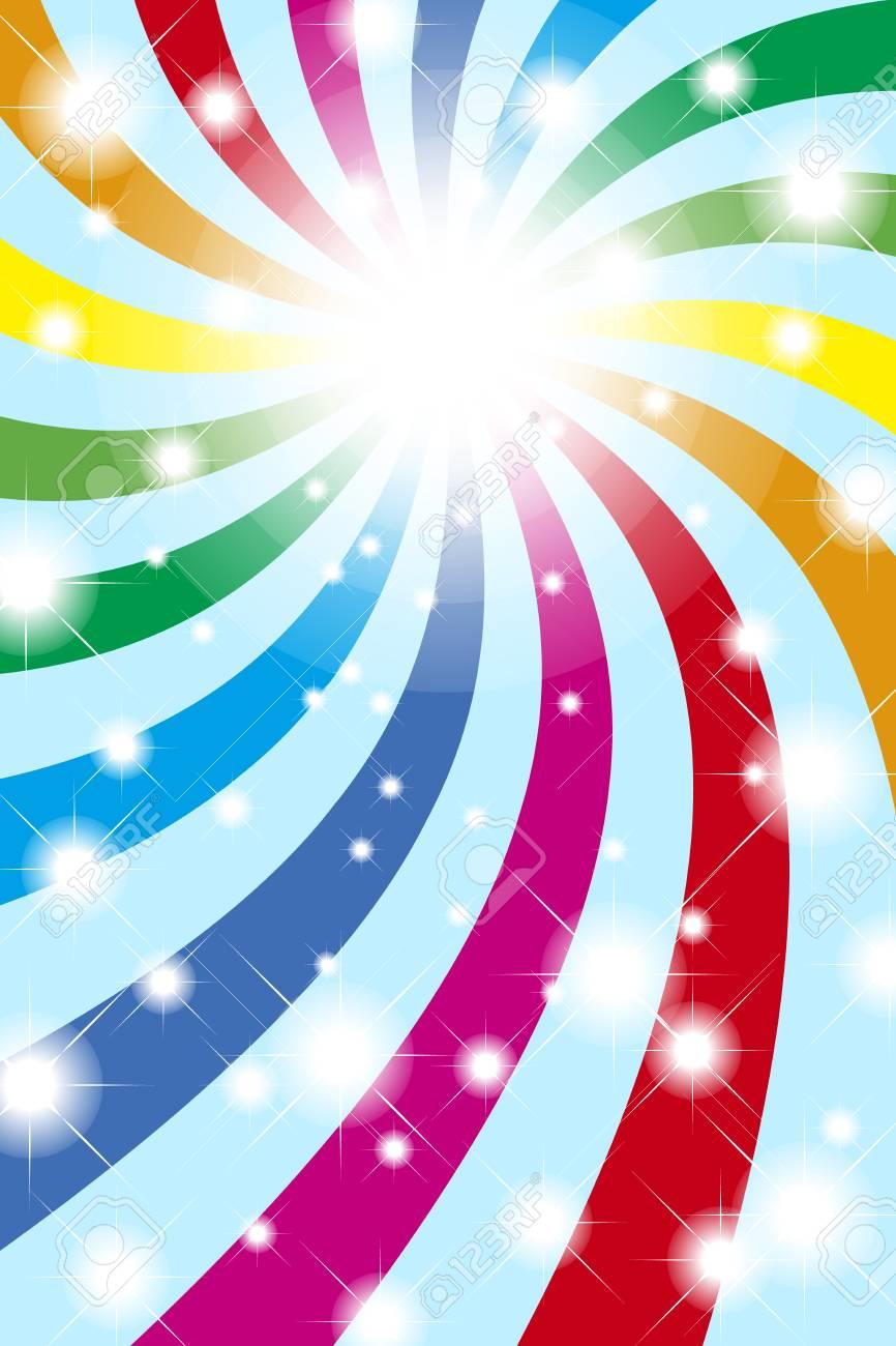 背景素材壁紙 虹 虹 光 明るい パーティー イベント 幸せ