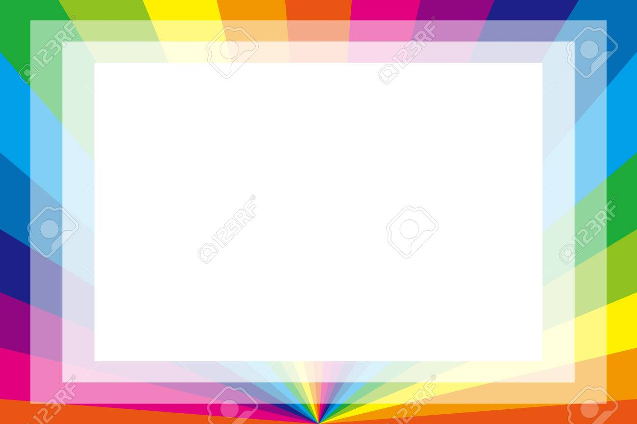 Background Material Wallpaper, Photo Frame, Photo Frame, Rainbow ...