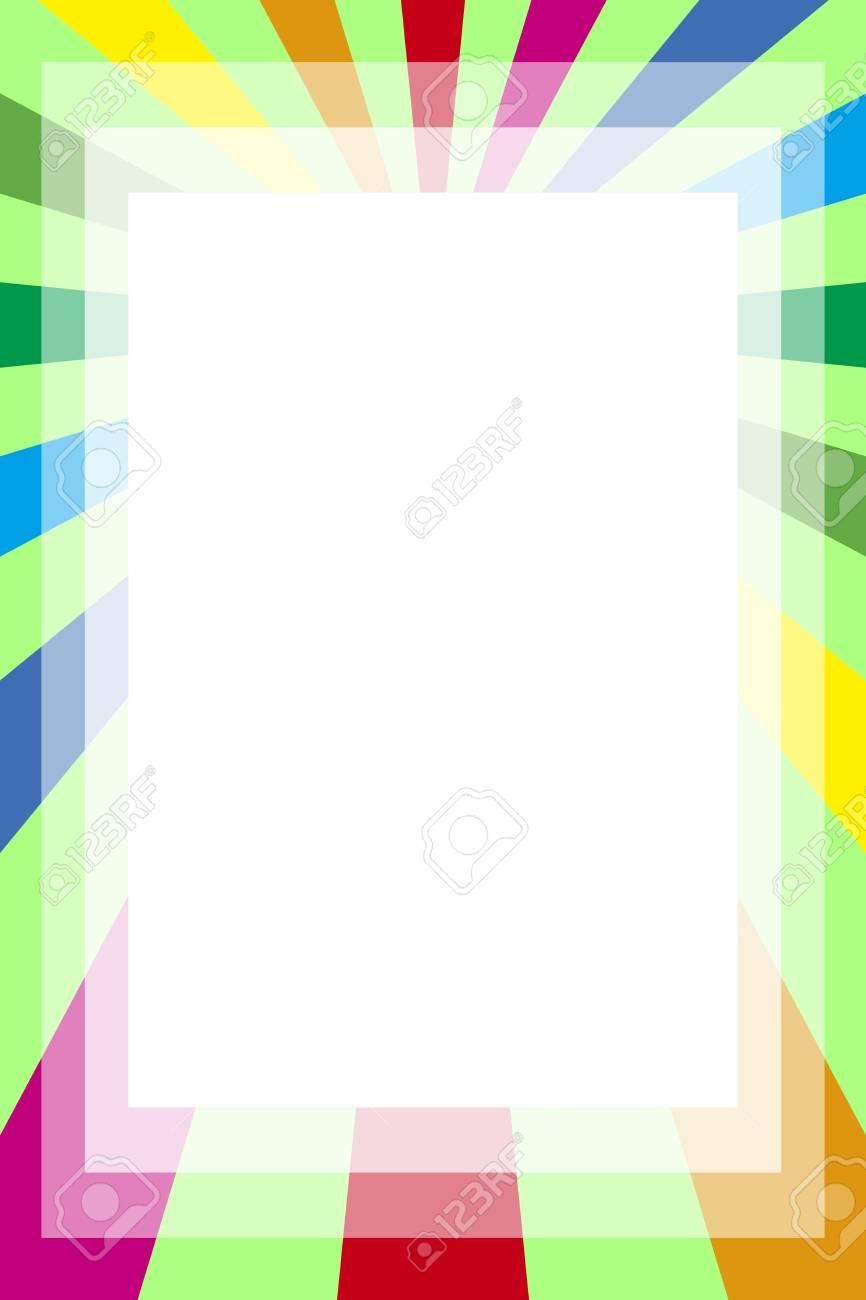 Hintergrundmaterial Tapeten, Fotorahmen, Fotorahmen, Regenbogen ...