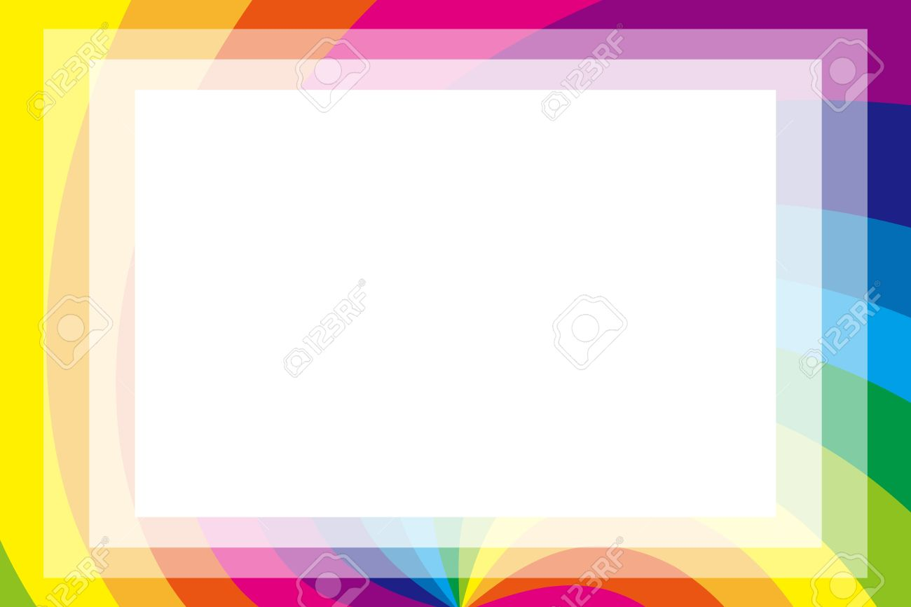 Rainbow Picture Frame | Wallpapersjpg.com
